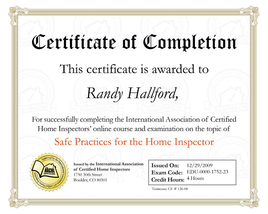 Calspec Home Inspectors Llc